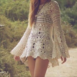Unit Ashbury crochet dress